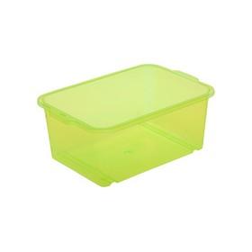 Bac de rangement vert wilma (L)300 x (P)200 x (H)110mm - Keeeper   Bacs de Rangement