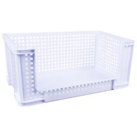 Bac de rangement 64 litres blanc - Really Useful Box   Bacs de Rangement