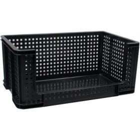 Bac de rangement 64 litres noir - Really Useful Box   Bacs de Rangement