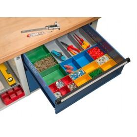 Jeu de casiers pour tiroirs EuroPlus Insert 63/22 - Allit - Casiers de Rangement