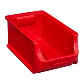 Bac à bec ProfiPlus Box 4 en PP rouge - Allit   Stockage