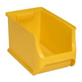 Bac à bec ProfiPlus Box 4H en PP jaune - Allit   Stockage