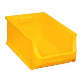 Bac à bec ProfiPlus Box 5 en PP jaune - Allit   Stockage