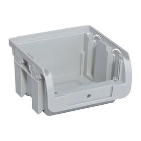 Bac à bec ProfiPlus Compact 1 en PP taille 1 gris - Allit   Stockage