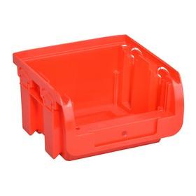 Bac à bec ProfiPlus Compact 1 en PP taille 1 rouge - Allit   Stockage