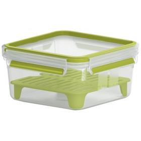 Boîte à sandwich XL Clip&Go 1,3L transparent - Emsa | Boîtes à Repas