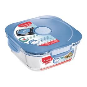 Boîte de conservation en verre Concept 1,2 l bleu - Maped