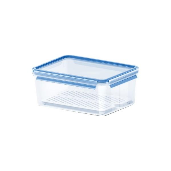 Boîte hermétique avec égouttoir Clip&Close 3,7 L - Emsa