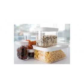 Boîte Haute pour Aliments Secs Optima 2,2 L transparente - Emsa | Boîtes Hermétiques
