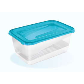 Boîte de conservation fredo fresh 4,3 L bleu - Keeeper