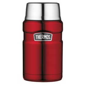 Récipient isotherme STAINLESS KING 0,71 l rouge - Thermos | Récipient Isotherme